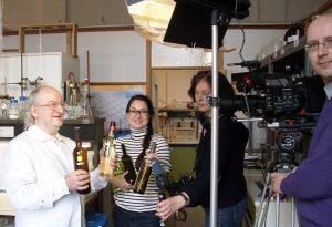 WDR bei den Aufnahmen für den Sendungsbeitrag (Foto: Renate Seyfert - Lafu GmbH)